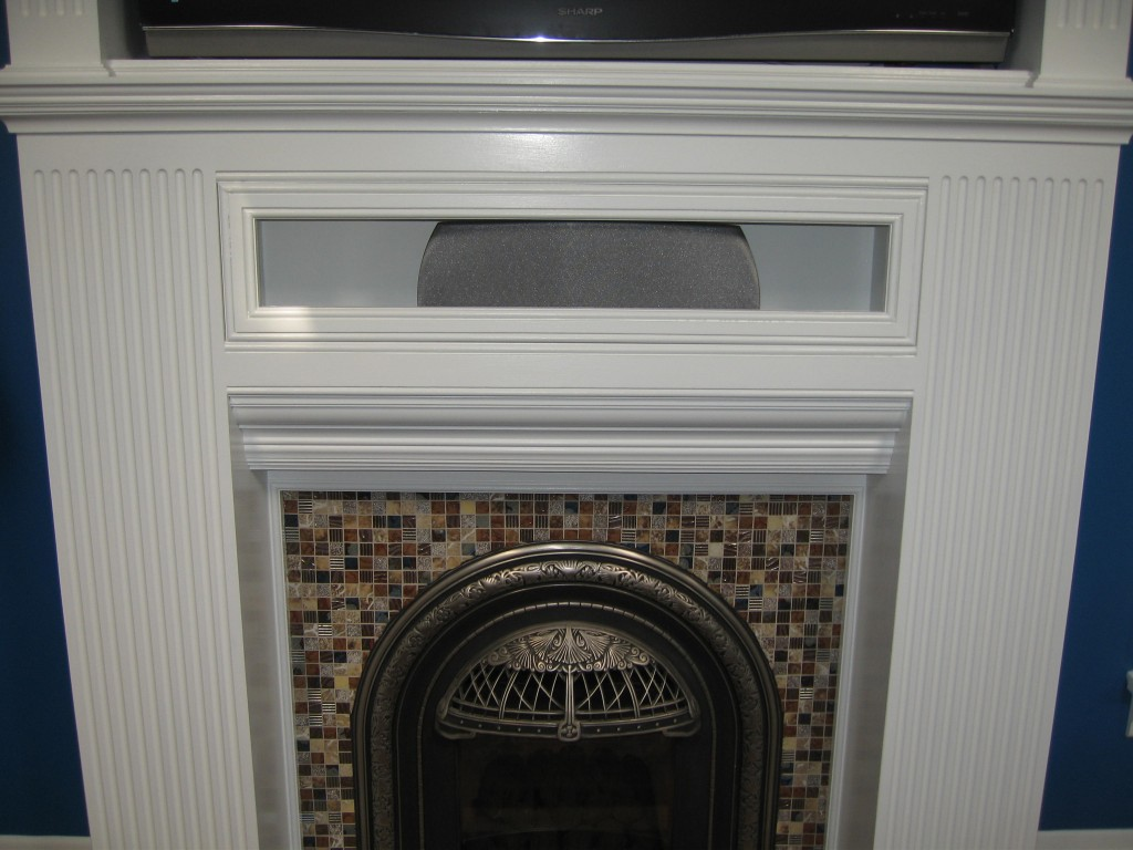 Fluted Mantle Gawley Building Amp Remodeling Inc