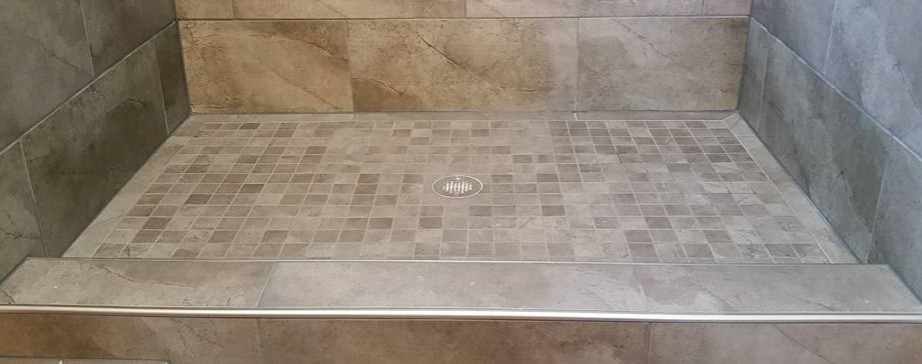 Marble Shower Curb Best Way To Handle Top Of