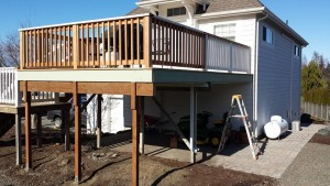 Deck Extention