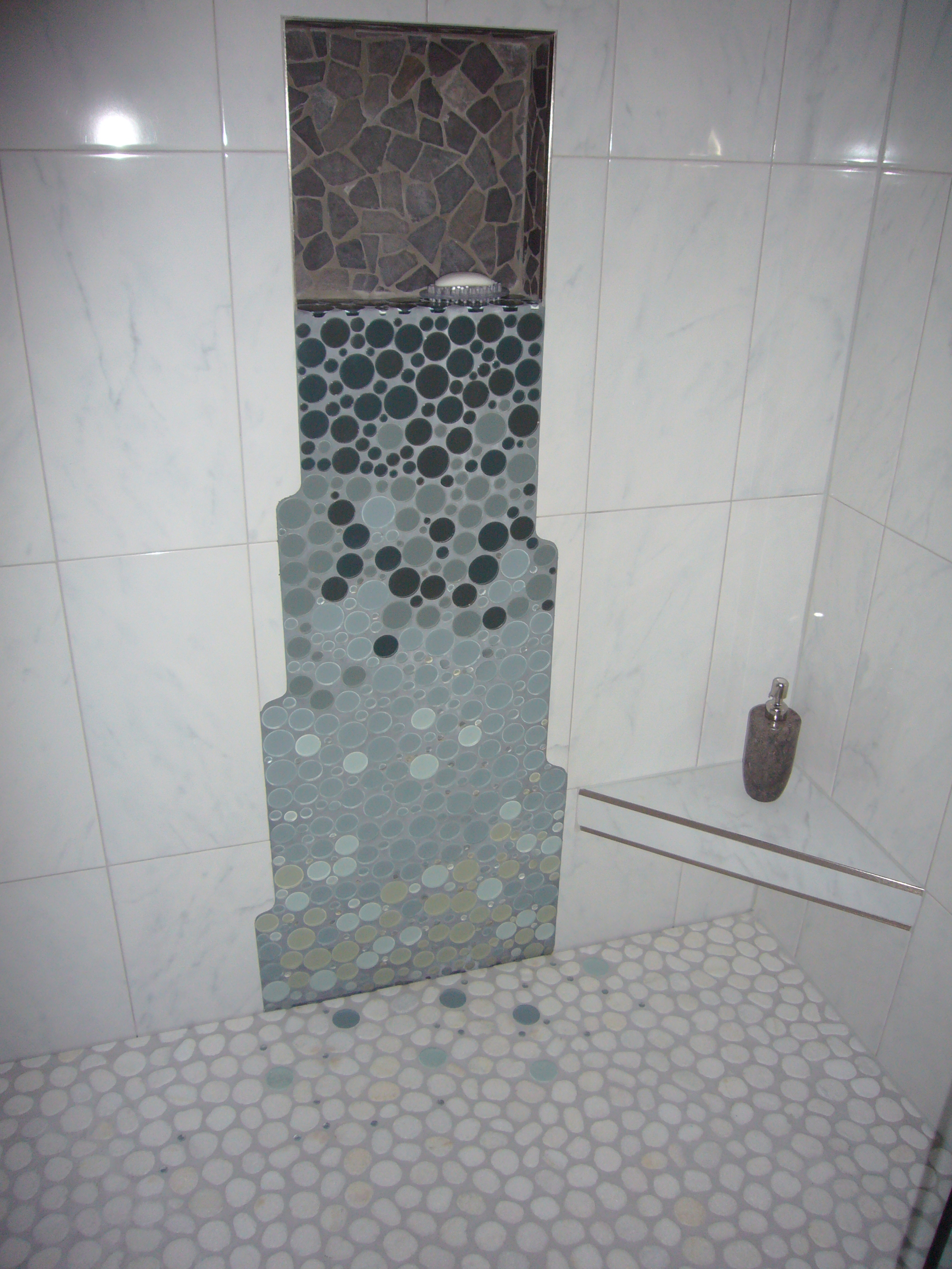 Curbless Shower And Linear Drain Gawley Building